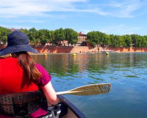 Location de canoë dans Toulouse avec jeu de piste : 12 € / pers